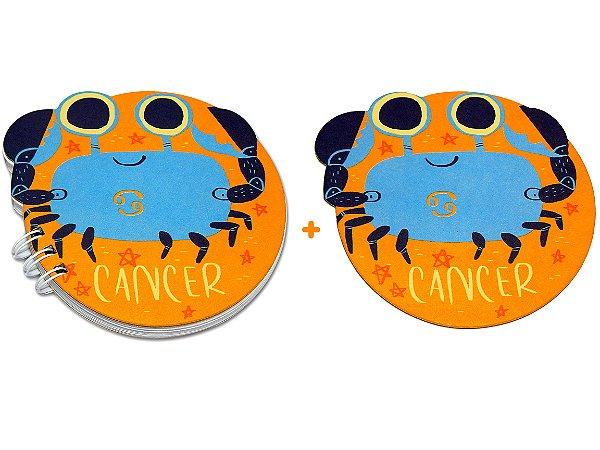 BLOCO + PORTA-COPO - Câncer