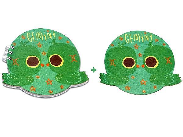 BLOCO + PORTA-COPO - Gêmeos