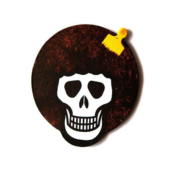 PORTA-COPO - Black Skull - und