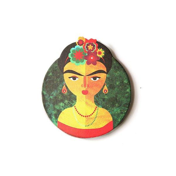Ímã - Girl Flower