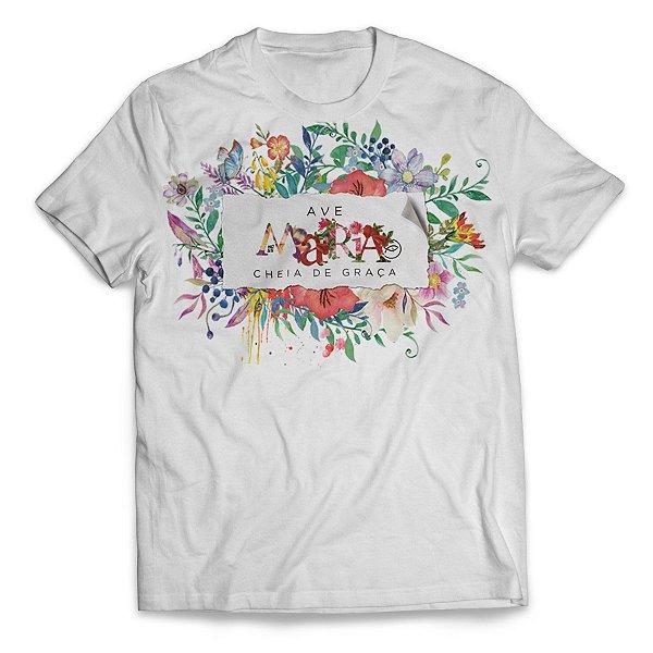 Camiseta Ave Maria Floral II