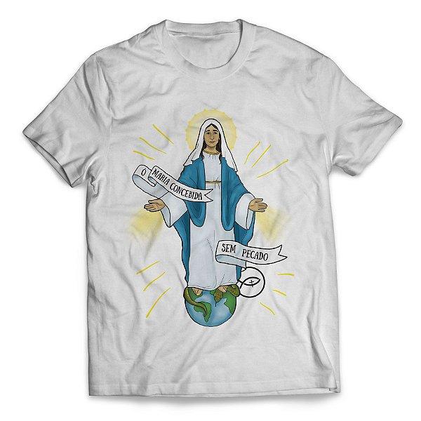 Camiseta Nossa Senhora das Graças - Loloca