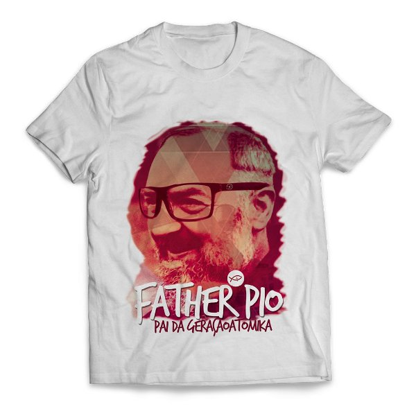 Camiseta Father Pio