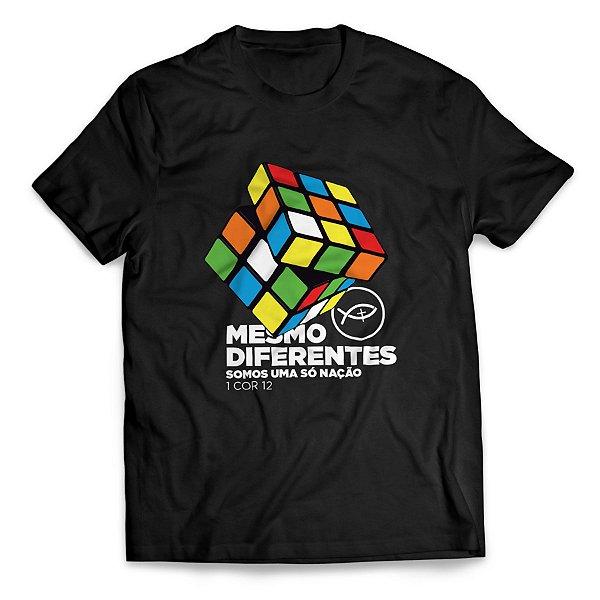 Camiseta Mesmo diferentes somos uma só nação