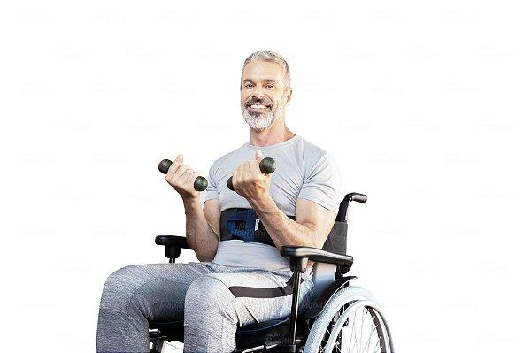 Cinto Abdominal para Cadeira de Rodas Mobilitta