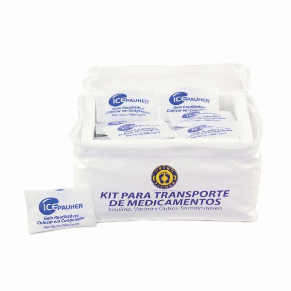 Kit para Transporte de Medicamentos Insulina Vacinas