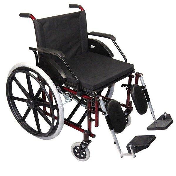 Cadeira de Rodas Confort Flex Pedal Elevável