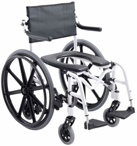 Cadeira de Banho em Alumínio e Desmontável H1