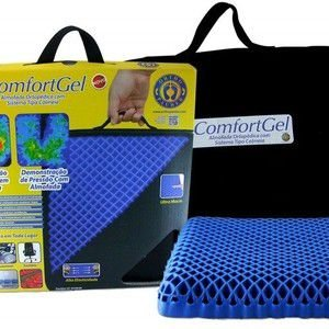Almofada Ortopédica Com sistema Tipo Colméia Comfort Gel Stability