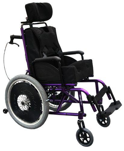 Cadeira de Rodas Confort Reclinável Plus Aço