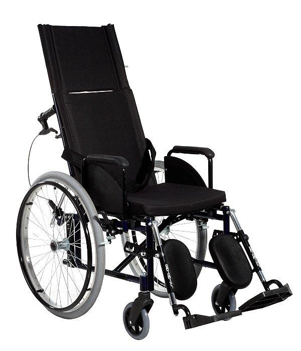 Cadeira de Rodas Standard Reclinável Lite