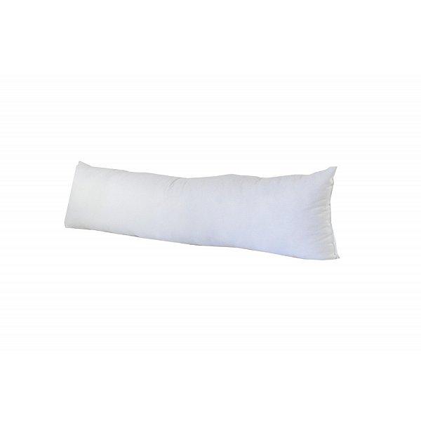 Travesseiro Pillow Plus 100% Fibra 35x80x15 cm