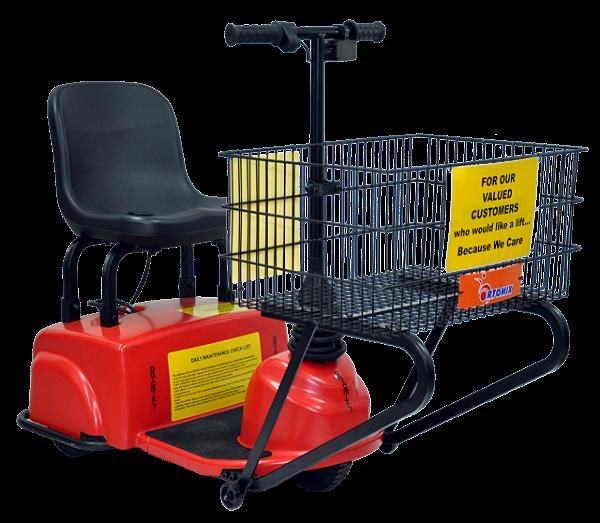 Scooter Motorizado Shopper 3