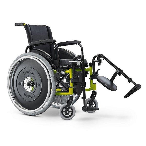 Cadeira de Rodas AVD Alumínio Pedal Elevável
