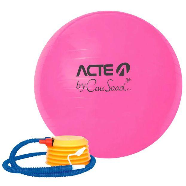 Bola de Pilates Rosa Linha Cau Saad 65 cm