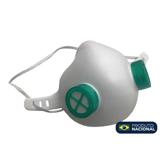 Máscara de Proteção com Filtro Reutilizável Macia