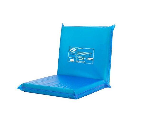 Forração Ortopédica Estofada com Assento e Encosto para Cadeira de Banho