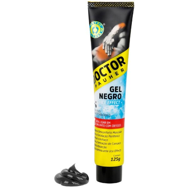 Gel Negro Massageador com Ice Effect Doctor Pauher