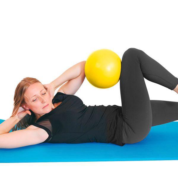 Bola para Exercícios e Pilates Fisioball YellowBall 26cm