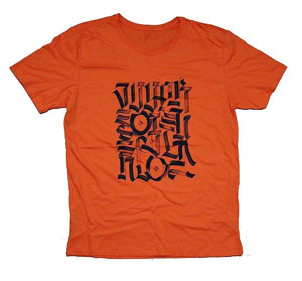 Camiseta Desenvolvido Pela Rua Laranja