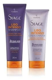 Kit Siàge Liso Intenso: Shampoo + Condicionador
