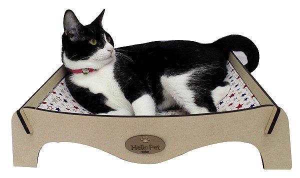 Cama redinha para Gatos- marinho
