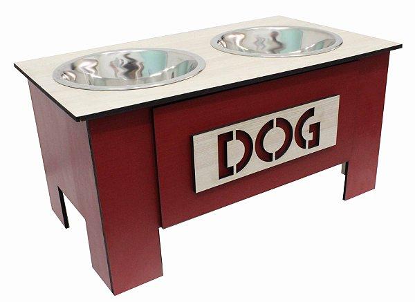 Comedouro Dog - Vermelho