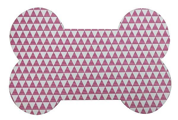 Jogo Americano Osso Geo Pink