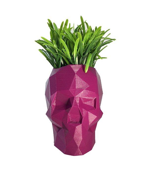 Caveira Vaso 3D