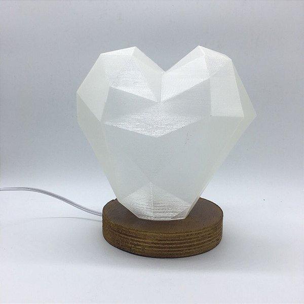 Luminária de Coração