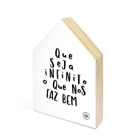 Casa Mini  Que Seja Infinito