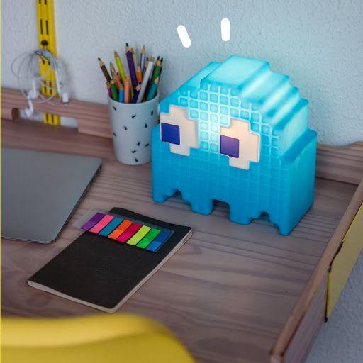Luminária Fantasma Pacman Azul