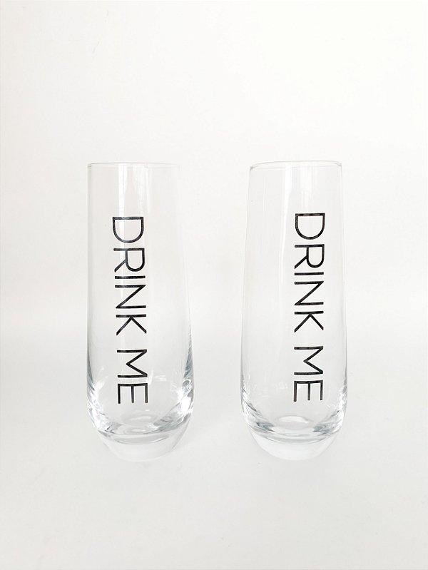 Copo Longo Drink Me (2copos)
