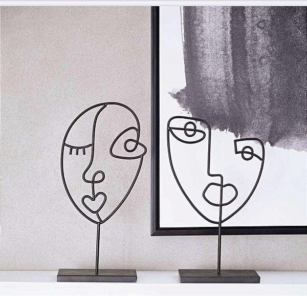 Escultura Luísa