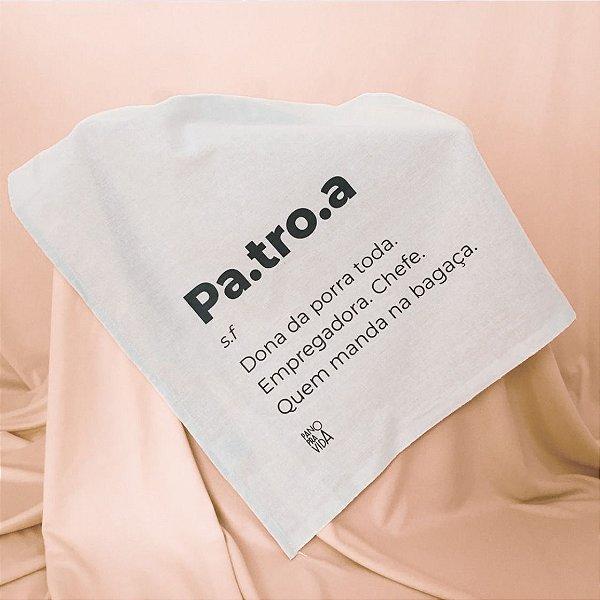 Pano de Prato Patroa