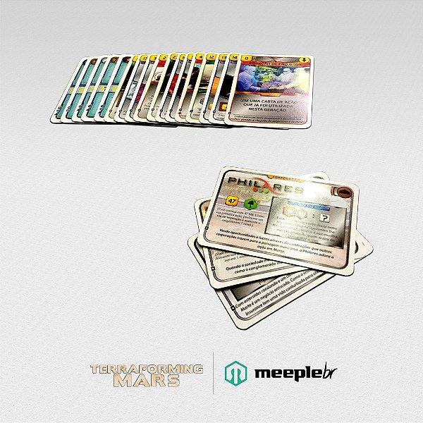 Terraforming Mars:  Kit de Cartas Extras do KickStarter Reviravolta (Turmoil)