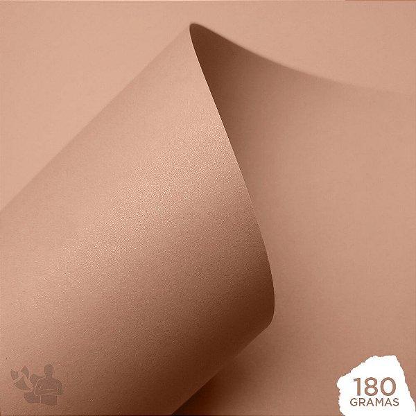 Papel Perolizado - Nude - 180g - A4 - 210x297mm