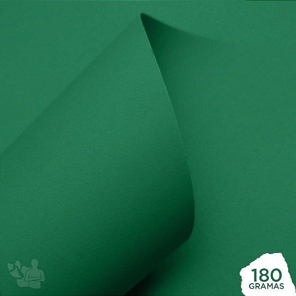 Papel Color Pop - Mimo - Verde Nature - 180g - 30,5x30,5cm