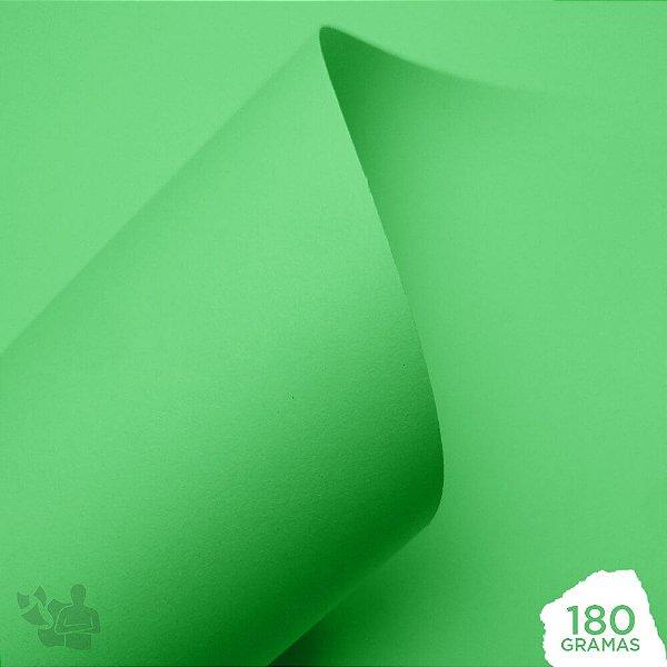 Papel Color Pop - Mimo - Verde Candy - 180g - 30,5x30,5cm