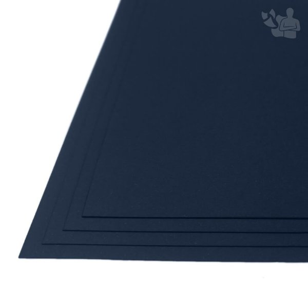 Papel Color Plus - Porto Seguro - Azul Marinho - 180g - A3 - 297x420mm