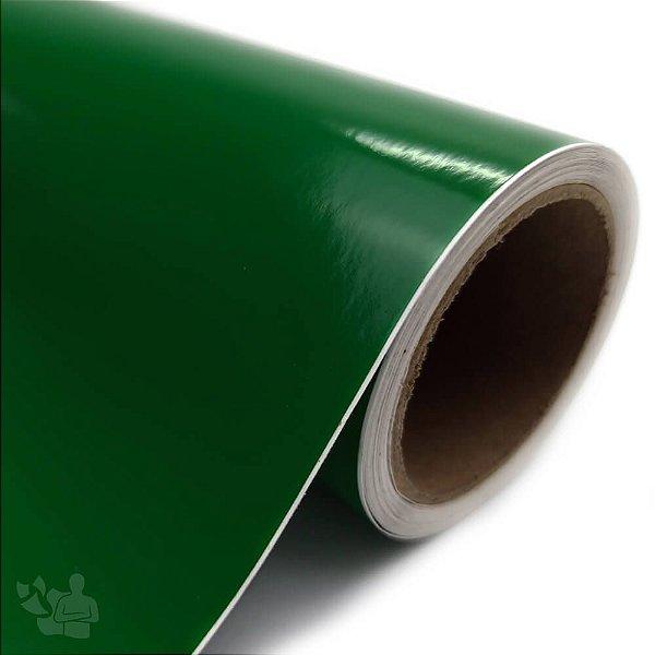 Vinil Adesivo - Recorte - Bobina - 30,5cm x 5m - Verde Bandeira