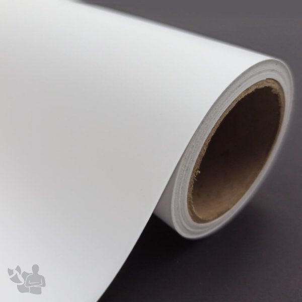 Vinil Adesivo - Recorte - Bobina - 30,5cm x 5m - Branco Fosco