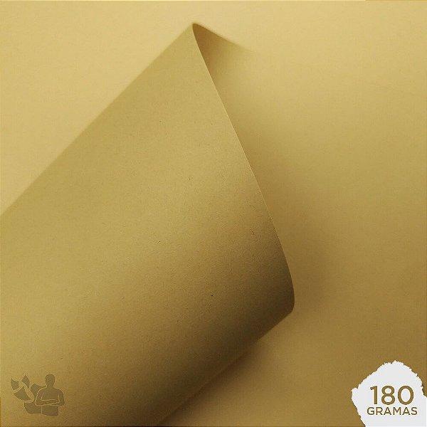 Papel Color Plus - Sahara - Creme - 180g - A4 - 210x297mm