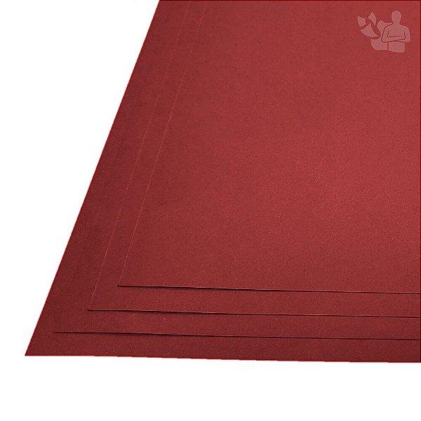 Papel Color Plus - Pequim - Vermelho Escuro - 180g - A3 - 297x420mm