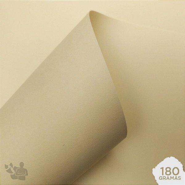 Papel Color Plus - Marfim - 180g - A4 - 210x297mm