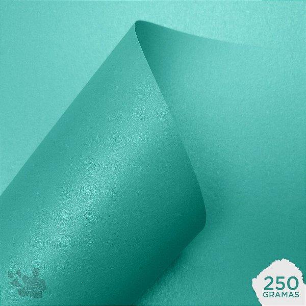 Papel Color Pop Luminous - Mimo - Jade - 250g - 30,5x30,5cm