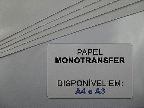 Papel Transfer para Rígidos - Monotransfer - 100g - Laser - A4 - 210x297mm
