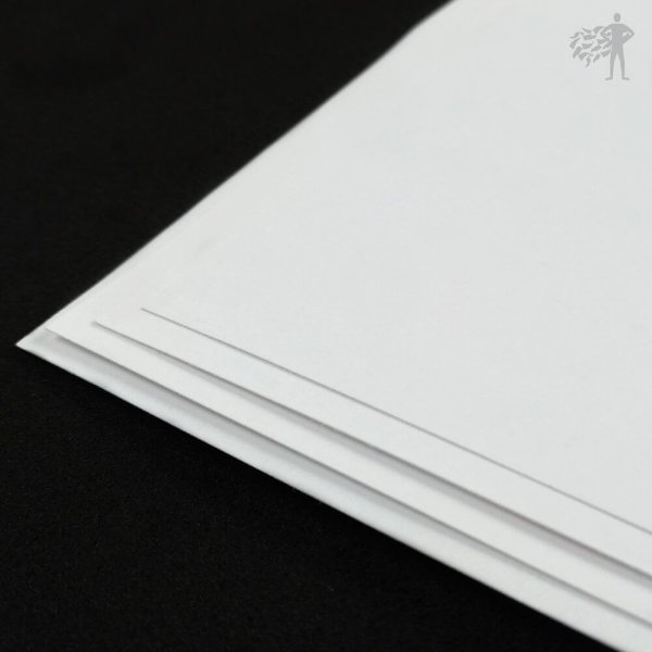 Papel Adesivo Branco Brilho - Laser - SRA3 - 330x480mm