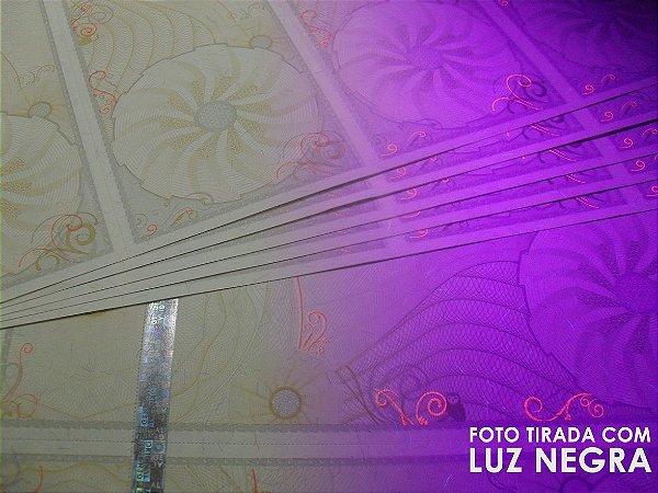 Papel para Ingresso - 4 por Folha - Com Fita Holográfica - A4 - 210x297mm