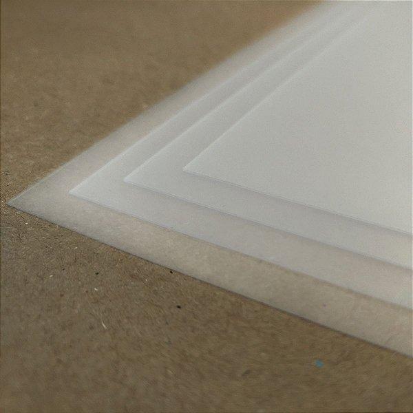 PVC Translúcido - 350 Micra - Laser - SRA3 - 330x480mm